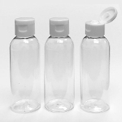 3PC 75ML SQUEEZE BOTTLES W/ FLIP CAP (24 PACKS) PF-5118