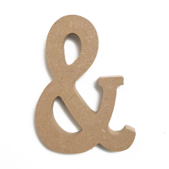 "4.5"" WOOD LETTER - A (24 PACKS) PF-4563"