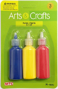 3PC 0.7 OZ FABRIC PAINTS (24 PACKS) PF-4681
