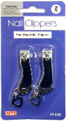 2PC FOOT SHAPE NAIL CLIPPERS (24 PACKS) PF-5081