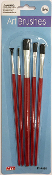 5PC ART BRUSHES - ASSORTED (24 PACKS) PF-4666