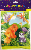 25 LOOT BAGS-JUNGLE PARTY (24 PACKS) PF-7741