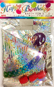 PARTY FOR 3 (LASER)-STARS & BALLOONS (24 PACKS) PF-3109