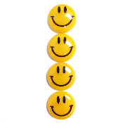4PC 4CM SMILING FACE MAGNETS (24 PACKS) PF-5154