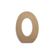 "4.5"" NATURAL WOOD NUMBER - 0 (24 PACKS) PF-4872"
