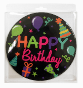 "4"" JUMBO BUTTON - HAPPY BIRTHDAY (24 PCS) PF-6100"