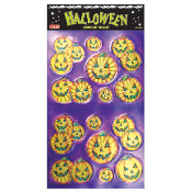 SALE! 14 PCS HALLOWEEN EMBOSSED STICKERS (48 PACKS) PF-7418