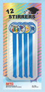 SALE! 12 PCS STIRRERS - GRADUATION (48 PCS) PF-7105