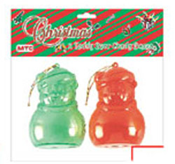 SALE! 2 PCS TEDDY BEAR CLAUS CANDY BOX (48 PACKS) PF-8853